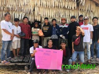 Dampak COVID-19, Pemuda Kreatif Enok Peduli Terhadap Masyarakat Yang Kurang Mampu