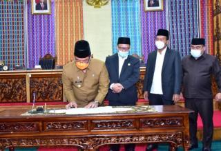APBD Kabupaten Bengkalis Tahun 2021, Ketuk Palu Sebesar 3,2 Triliun