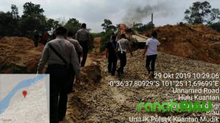 10 Unit Dompeng Dimusnahkan Polsek Kuantan Mudik