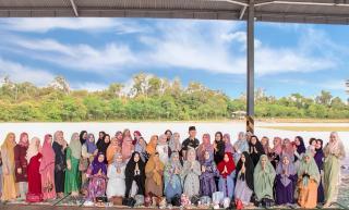Ny.Vina Fardinal: Rumah Tangga Harmonis Akan Perkuat Silaturahmi