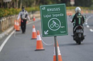 Kemenhub Hanya Siapkan Regulasi Keselamatan Pesepeda