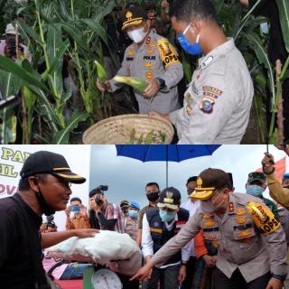 Polda Riau Gandeng Persatuan Pedagang Jagung Bakar Pekanbaru