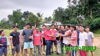Kemajuan Olahraga di Kuansing Menjadi Perhatian Utama Putra Sulung H. Halim
