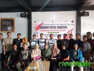Angkat tema kekinian, PMMD 2019 gelar Workshop Digital Marketing