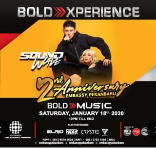 Soundwave  hadir di anniversary Embassy Pekanbaru
