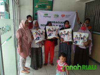 Pegadaian Syariah Bangkinang gandeng Rumah Zakat hadirkan Kebahagiaan