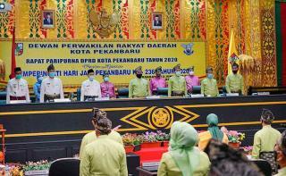 Peringati Hari Jadi Kota Pekanbaru, Gubri Puji Keberhasilan Pembangunan