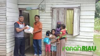 Rika Maria Merasa Senang di kunjungi dan di bantu Rumah Zakat