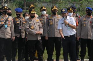 Kapolda Banten Dampingi Kabaharkam Polri