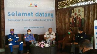 DPD RI Kunjungi Chevron dan Pertamina Bahas Blok Rokan