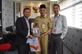 Support wakil walikota Pekanbaru untuk program Rumah Zakat