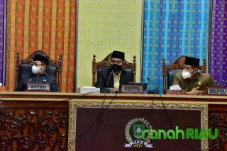 DPRD Bengkalis Gelar Rapat Paripurna Terkait LKPJ Bupati Bengkalis Tahun 2020