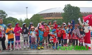 Dapat Dukungan berbagai pihak, Festival Sepatu roda Zulmi Inline Skate berjalan lancar