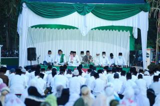 Sambut Ramadhan 1442 H, Pemkab Meranti gelar Zikir Akbar dan Sholat Subuh Berjamaah
