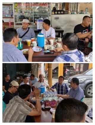 Silaturahmi bersama Tokoh Agama dan Intelkam Polda Riau