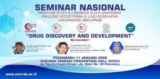 Agenda Drug Discovery and Divelopment Univrab Pekanbaru
