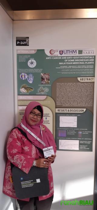 Rektor Abdurrab wakili Indonesia di Event Internasional