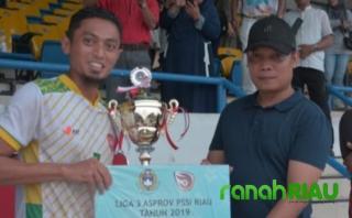 Adu Pinalti, Tornado FC Juarai Liga 3 Asprov PSSI Riau