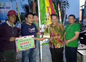 Hulu Kuantan Boyong 2 Piala, Pacu Jalur Rayon III, Di Gunung Toar