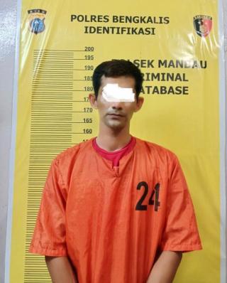 Tak Jera-Jera, Polsek Mandau Ringkus Satu Orang Pelaku Penyalahgunaan Narkotika