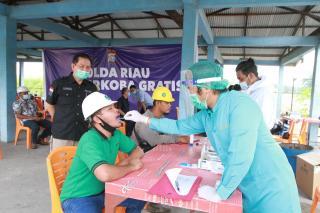 Ditresnarkoba Polda Riau Lakukan Test Narkoba di Lingkup Tenaga Kerja