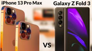 Iphone 13 Pro Max vs Samsung Galaxy Z Fold 3, mau pilih yang mana?