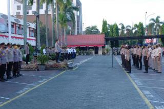 693 Personel Kenaikan Pangkat, Kapolda Riau : Bekerjalah Dengan Baik dan Sungguh Sungguh