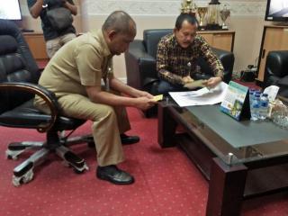 Silaturahmi ke Sekdakab Pelalawan, ini yang disampaikan KI Riau