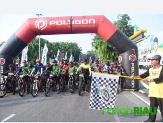 Club Bicycle Malaysia Ikut di Event Jelajah Alam Bengkalis