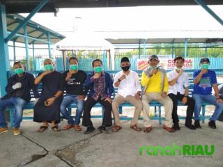 Hari Pertama Lebaran, Tim Siaga Covid19 tetap semangat Bekerja