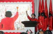 PDI Perjuangan  Mengusung Megawati Menjadi Ketua Umum DPP 2015-2020