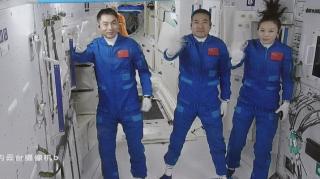 Bikin Bengong Amerika, China sukses kirim lagi 3 Astronot, salah satunya Perempuan