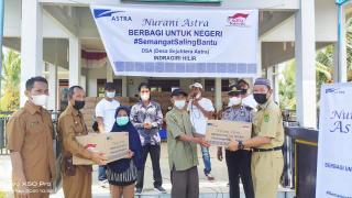 PT Astra Indonesia Salurkan CSR Tahun 2021 Melalui DSA Inhil