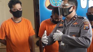 Tiga Pelaku Pencurian Spesialis Ganjajl ATM diamankan Polsek Tampan