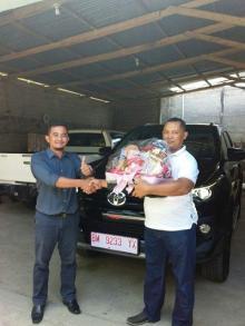 Wowww...Pengusaha Ini Orang Pertama Miliki All New Fortuner TRD VRZ di Kuansing...