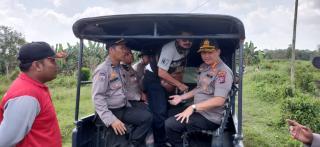 Polresta Pekanbaru amankan pelaku, diduga pembakar lahan