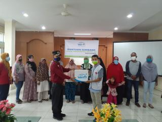 Puluhan Paket Sembako Kembali Disalurkan Di 2 Kecamatan Kota Pekanbaru