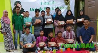 Dompet Dhuafa Riau Berbagi Kebahagiaan
