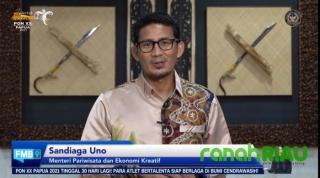 Sandiaga Uno dukung penuh pelaksanaan PON XX Papua 2021
