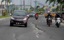 Perbaikan Jalan Yos Sudarso Menelan Dana 32 Miliyar