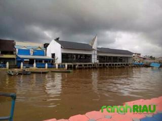 Telan Anggaran Rp 1,4 Miliar, Bangunan Pasar di Kuala Lahang Belum Difungsikan