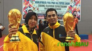 Atlet Asal Kuansing, Perkuat Kontingen pra PON Provinsi Riau, Di Tingkat Nasional