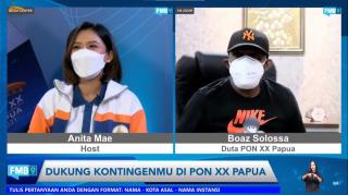 Antusias warga Papua dalam menyambut PON XX