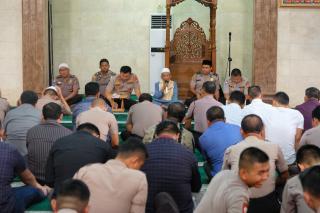 Doakan Kedamaian Bangsa dan Negara RI, Polda Banten Gelar Doa Bersama