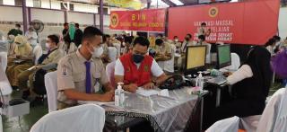 Door To Door, BIN : Berikan Vaksinasi Massal Kepada Masyarakat dan Pelajar di Provinsi Riau
