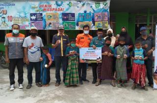 Rumah Zakat Salurkan 200 Paket Superqurban di Indragiri Hilir
