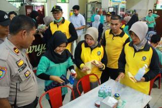Polda Riau Bersinergi, Gelar Aksi Gerakan Bersih Sehat Di Area Publik