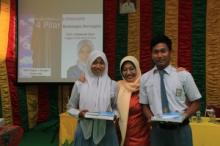 Intsiawati Taja Kelas Motivasi 4 Pilar di SMK 1 Bangko