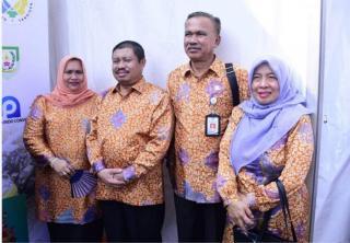 Bupati Bengkalis Tinjau Stand Pameran GTTG 2019 dan Himbau Posyantek Proaktif