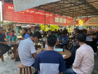 Turnamen ML Secara Resmi di Buka Oleh Ketua PENGCAB ESI Kuansing